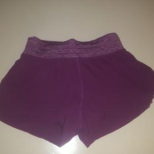 Nwot- Lululemon running shorts size 2